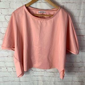 Zara Tarfaluc Pink Top Size Small